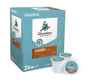 Caribou Coffee - Caribou Blend - K-Cups (24 Count)