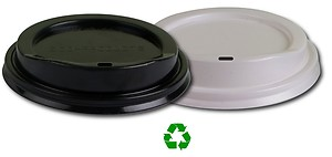 Eco Friendly Lids for Hot Cups (12-20 oz) 100 Count