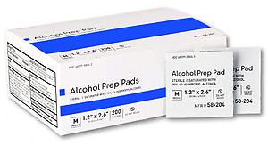 Alcohol Cleaning Pads