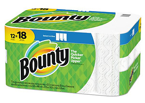 Bounty Select-a-Size 12 roll pack