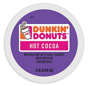 Dunkin Donuts Hot Cocoa K-cups (24 ct)