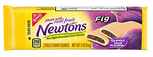 Whole Grain Fig Newtons