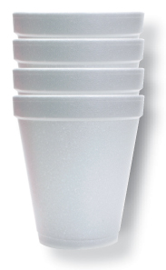 Styro Cups (Sleeve of 25)