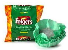 Folgers Decaf Filter Packs (40 count case)