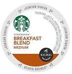 Starbucks Coffee - Breakfast Blend K-Cups (24 Count)
