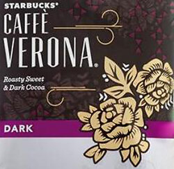 Starbucks Caffe Verona (Box of 18)