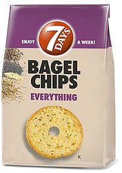 7 Days Bagel Chips - Everything