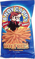 Andy Capp Hot Fries (Snack Size)
