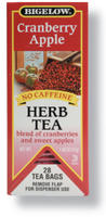 Bigelow Apple Cranberry Herbal Tea