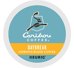 Caribou Coffee - Daybreak Blend - K-Cups (24 Count)