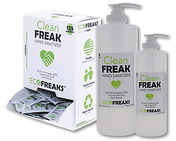 Clean Freak Hand Sanitizers