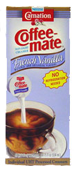 CoffeeMate French Vanilla Liquid Creamer (50 count box)