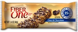 Fiber One Chewy Oats and Chocolate Bar