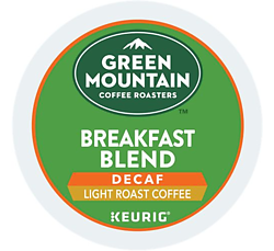 Green Mountain Coffee - Breakfast Blend Decaf - K-Cups (24 Count)