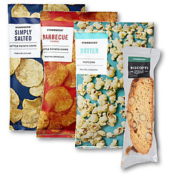 Starbucks Coffee Cafe Snacks