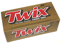 Twix Caramel By the Box (36 Count)