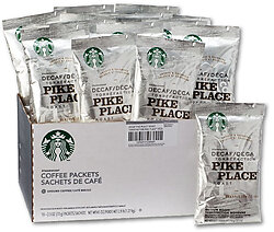 Starbucks Decaf Pike Place Roast (Box of 18)